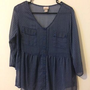 Women's large blouse